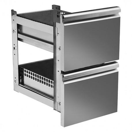 Kühltisch Schubladen GN 1/1 halb und halb