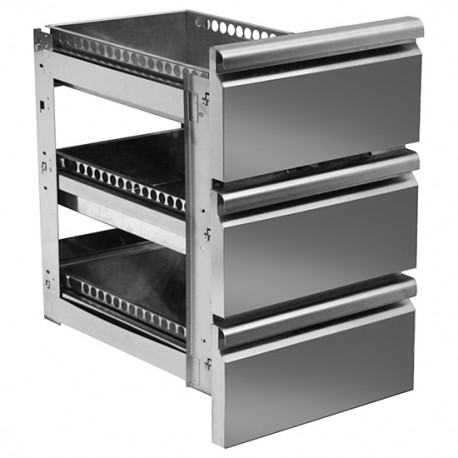 Kühltisch Schubladen GN 1/1 3er Block