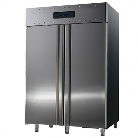 Doppeltür Tiefkühlschrank Umluft 1400 Liter mit guter 85 mm Isolation 21 GN je Türe
