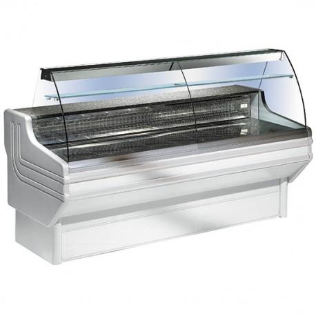 Grosse Kühlvitriene mit Glasaufsatz 300 cm