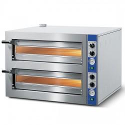 CAB0033CN Cuppone Tiziano TZ435 M2 Pizzaofen Doppelkammer je  4 x 35 cm Pizza