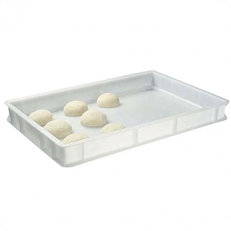 Pizza Kugel Box Behälter Kiste Kunststoff Pizzateig Plastik 60 40 7 cm
