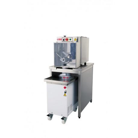 50 - 800 Gramm Teigportionier- und Teigabrundmaschine mit Gestell V2A